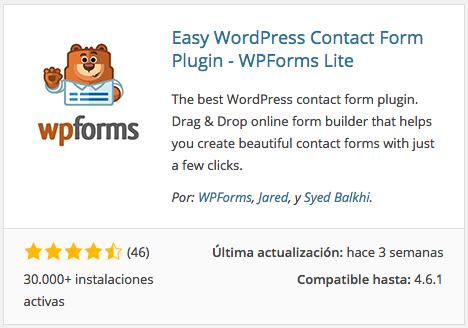 WPForms Lite