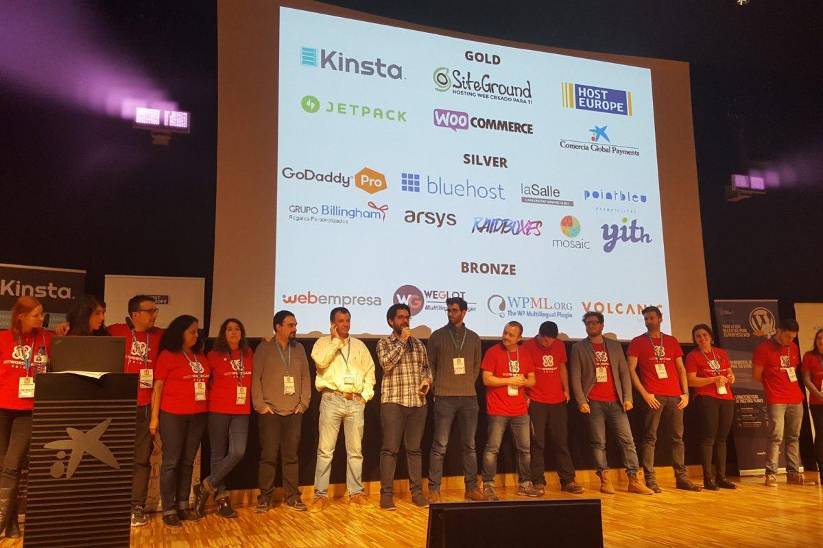 Organizadores de WordCamp Barcelona 2016