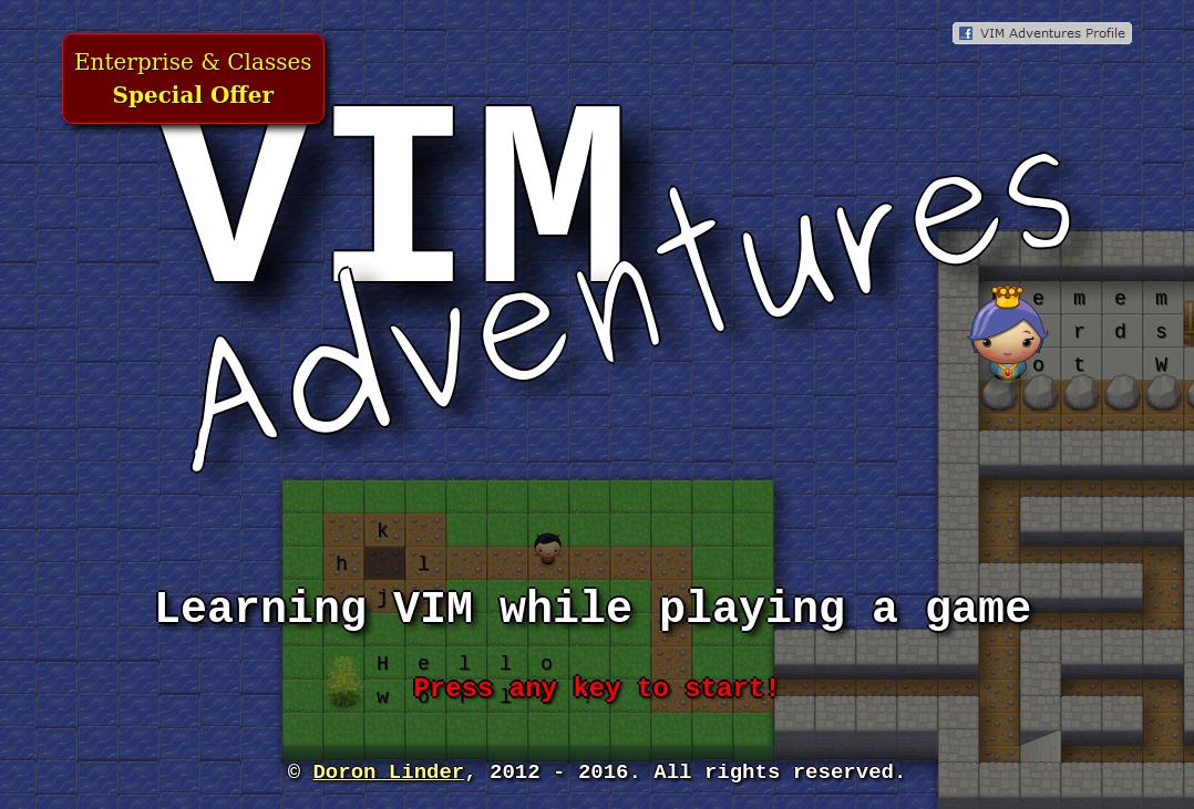 Vim Adventures
