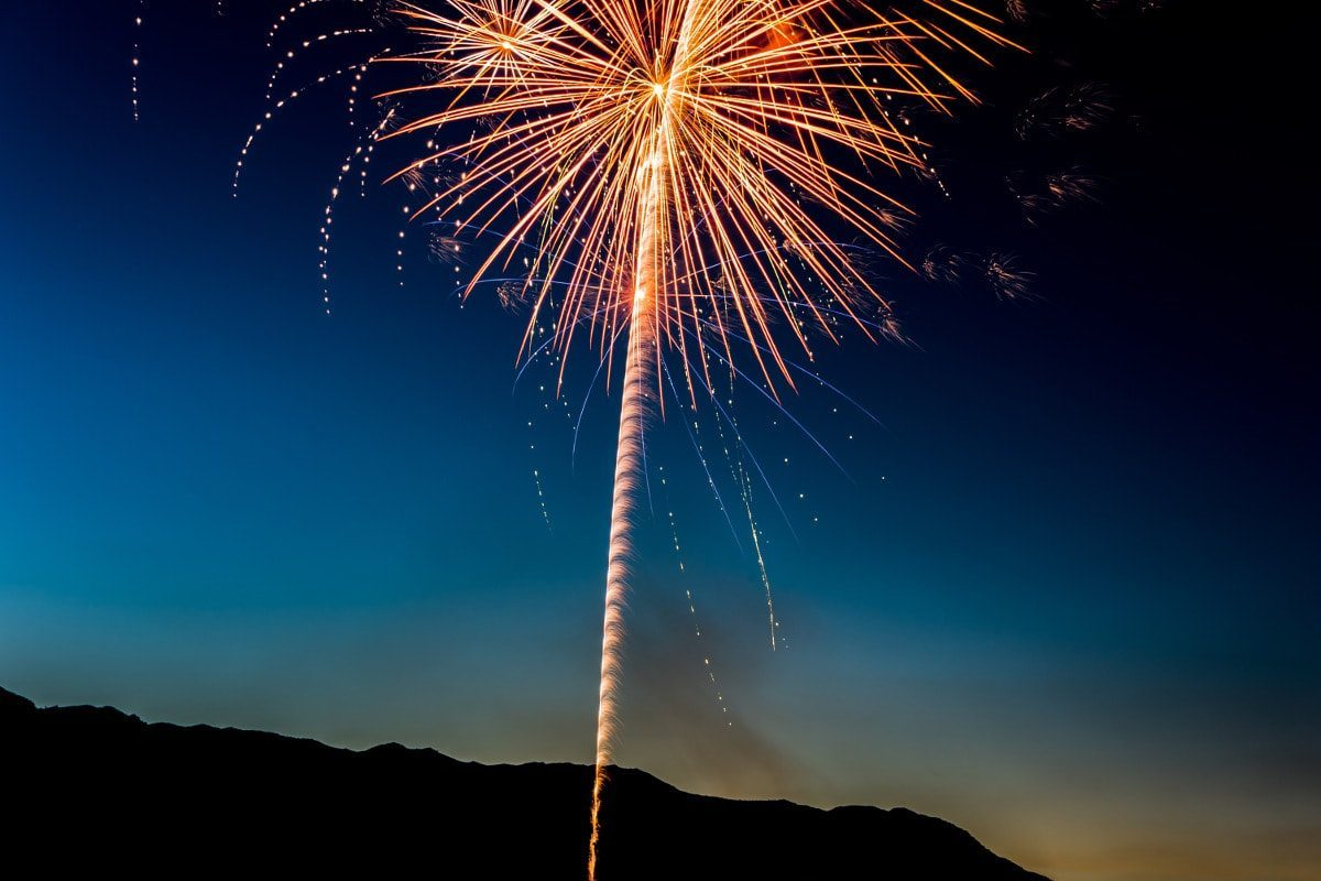 Fireworks, de Edewaa Foster
