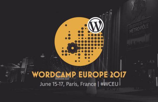 WordCamp Europe 2017, Paris