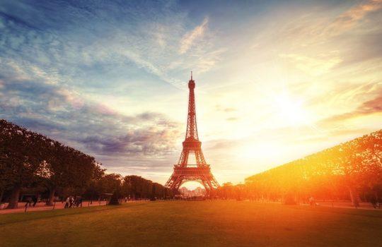Torre Eiffel en París, de William West