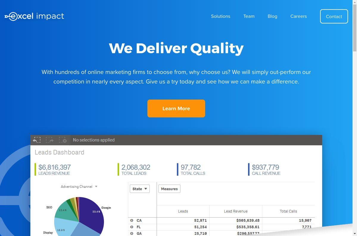 Web de Excel Impact