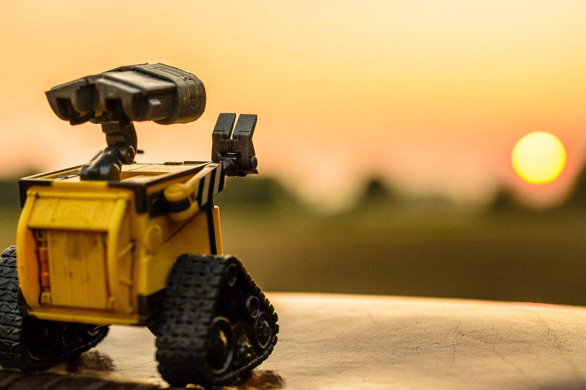 Wall-E Says Goodbye, foto de Dominik Scythe