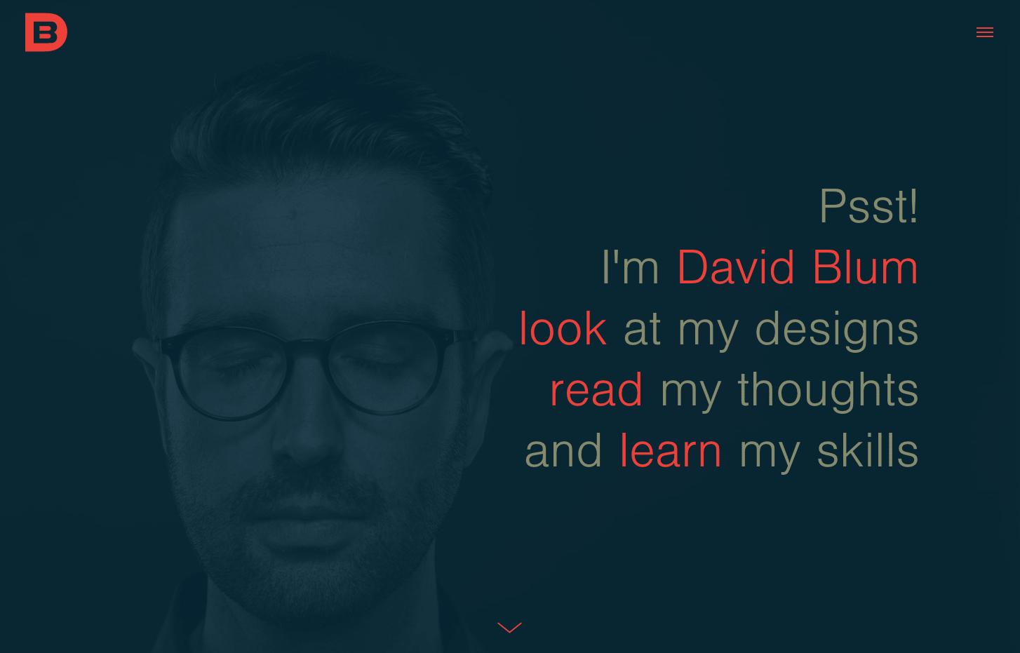 David Blum web