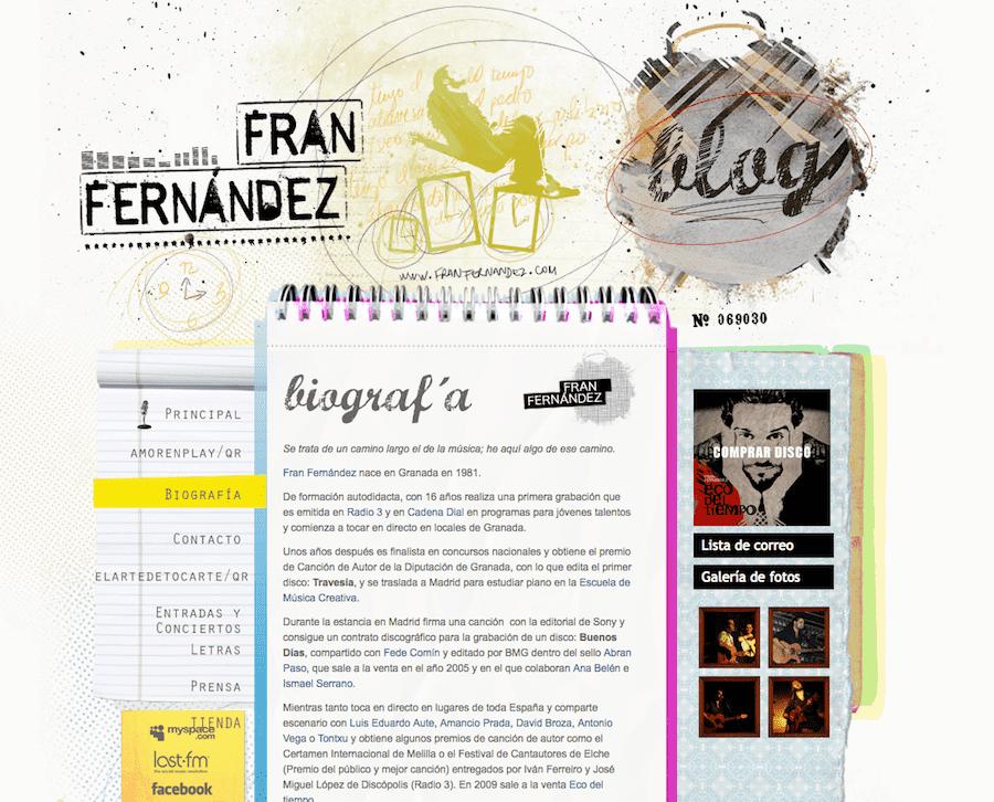 Fran Fernandez web