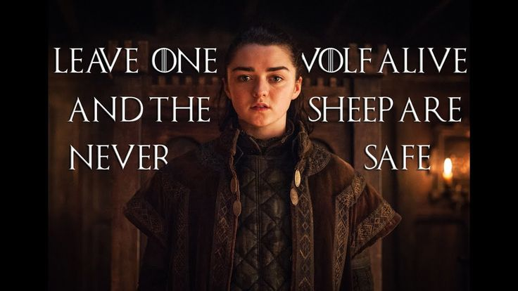 Arya de Game of Thrones