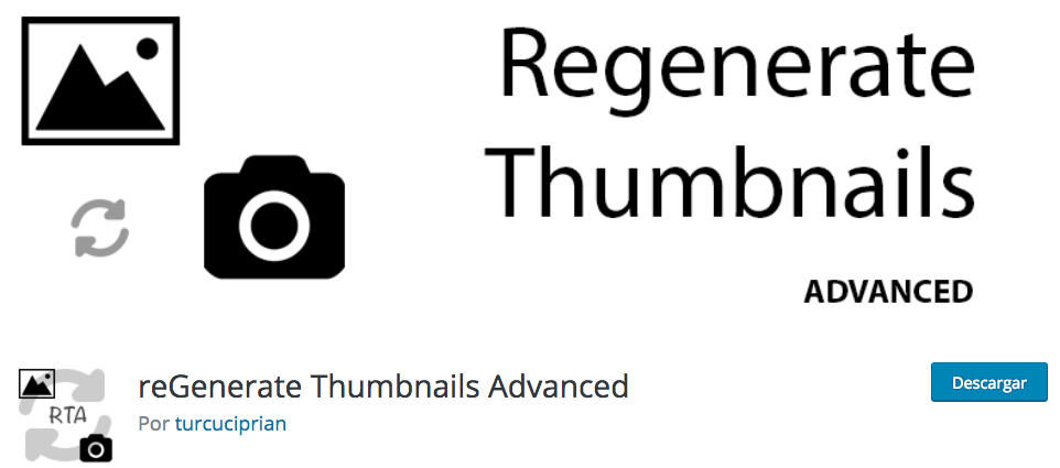 Regenerate Thumbnails Advanced