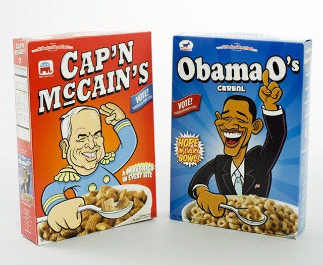 Las cajas de cereales con las que AirBnb consiguió salir del pozo.
