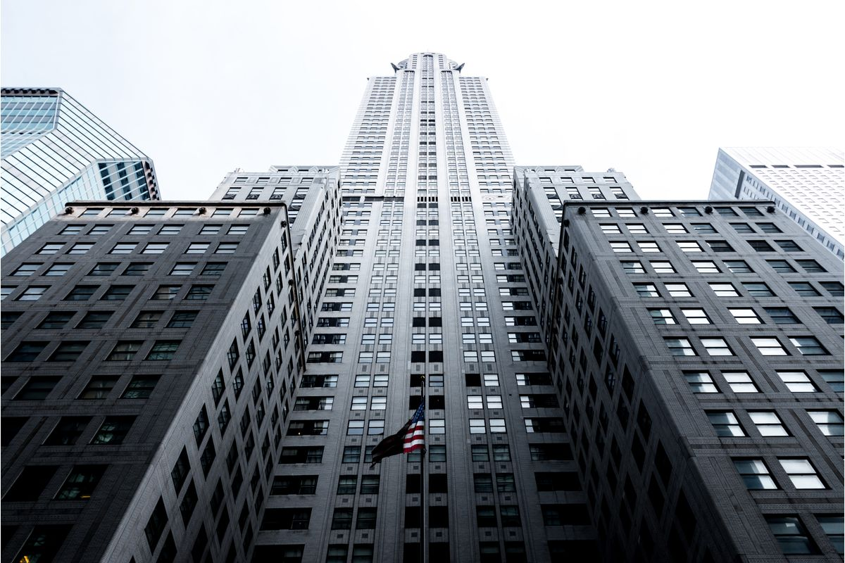 Fotografía de un rascacielos, de Andrés García