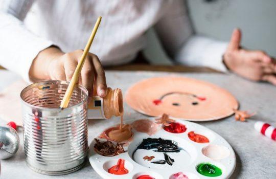 """""""Paint, palette, art and plate"""", de Rawpixel"""