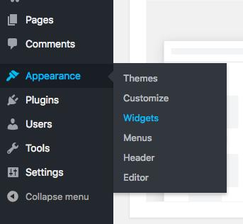 Uso de widgets