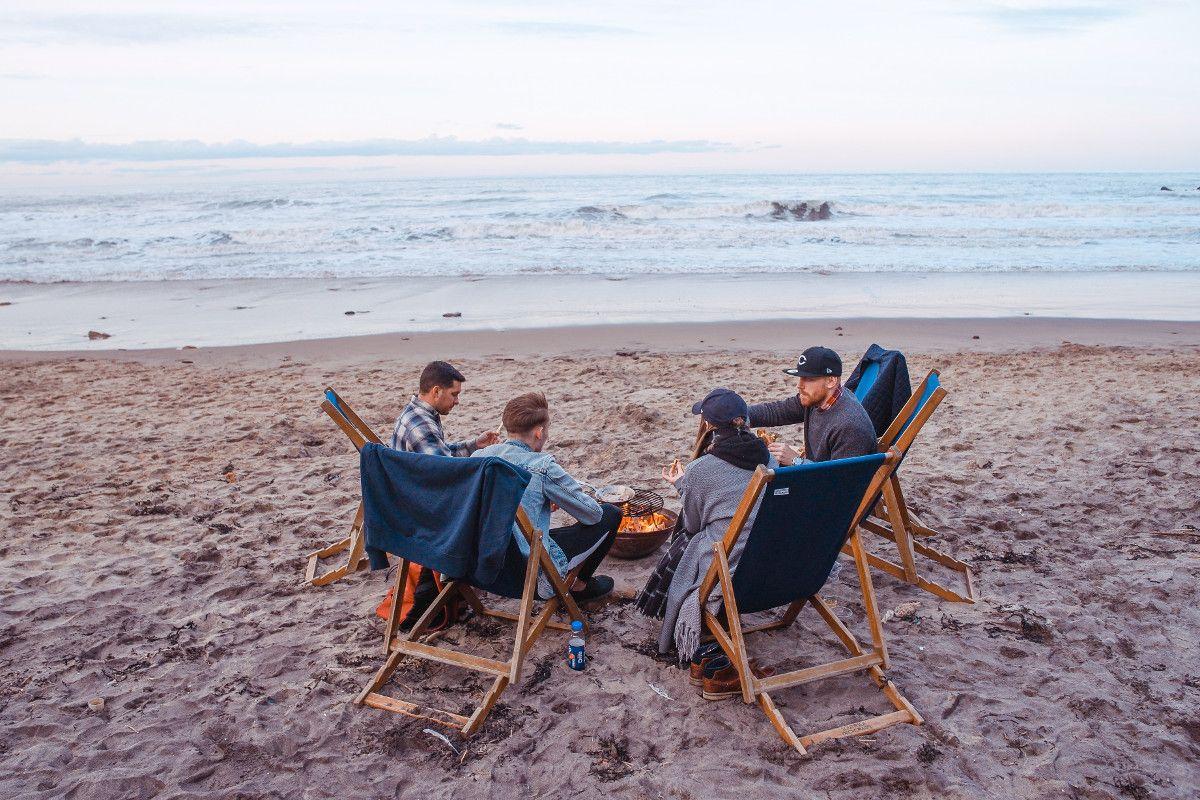 Barbecue at the beach, de Toa Heftiba