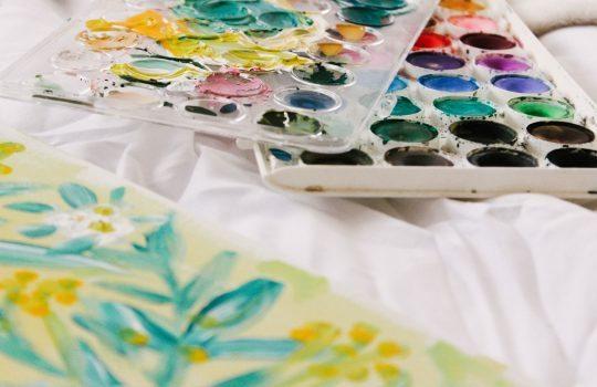 Watercolor Painter de Victoria Bilsborough