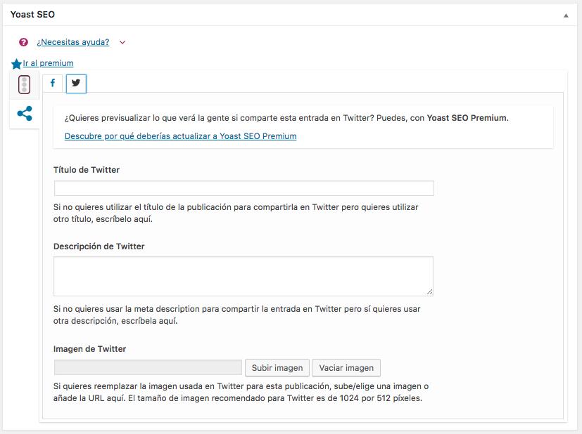 Personalización de visualización de entrada en Twitter