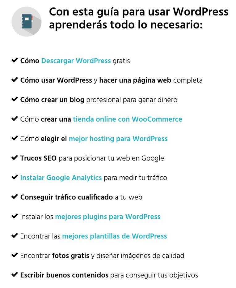 Guía de WordPress de Ernesto Bustamante.