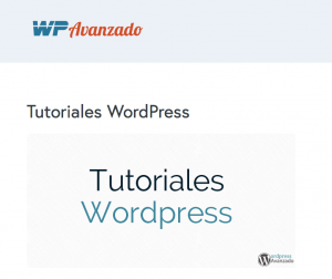 Tutoriales WordPress de WPAvanzado.