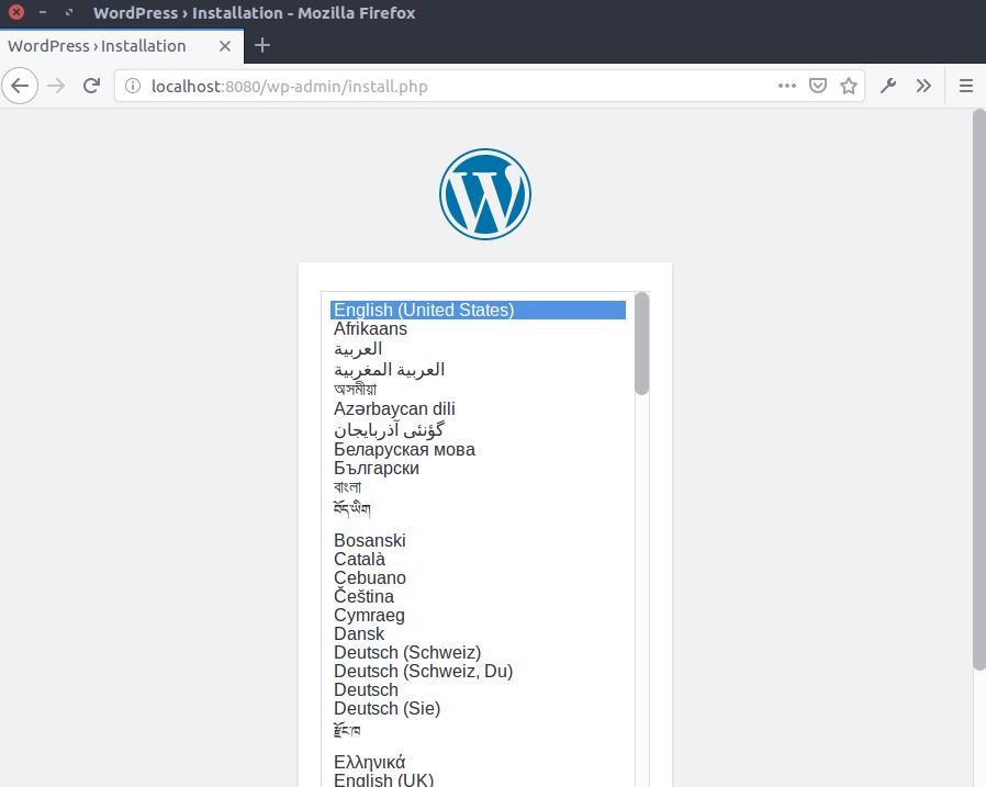 Instalar WordPress en un contenedor Docker