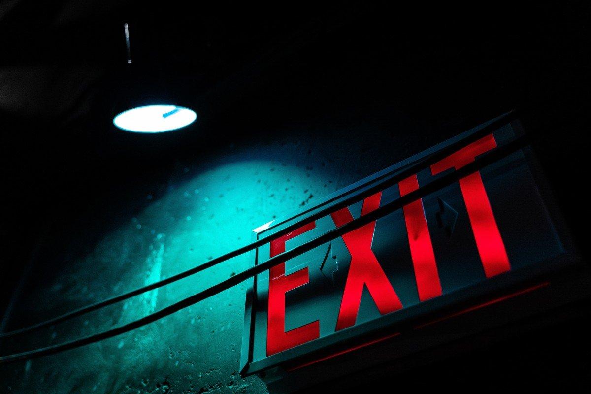 Exit, de Kevin Wang