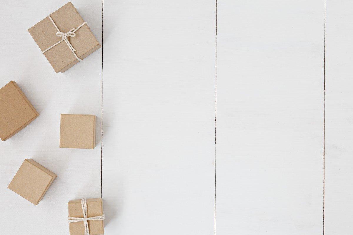 Box, string, gift and present, de Leone Venter