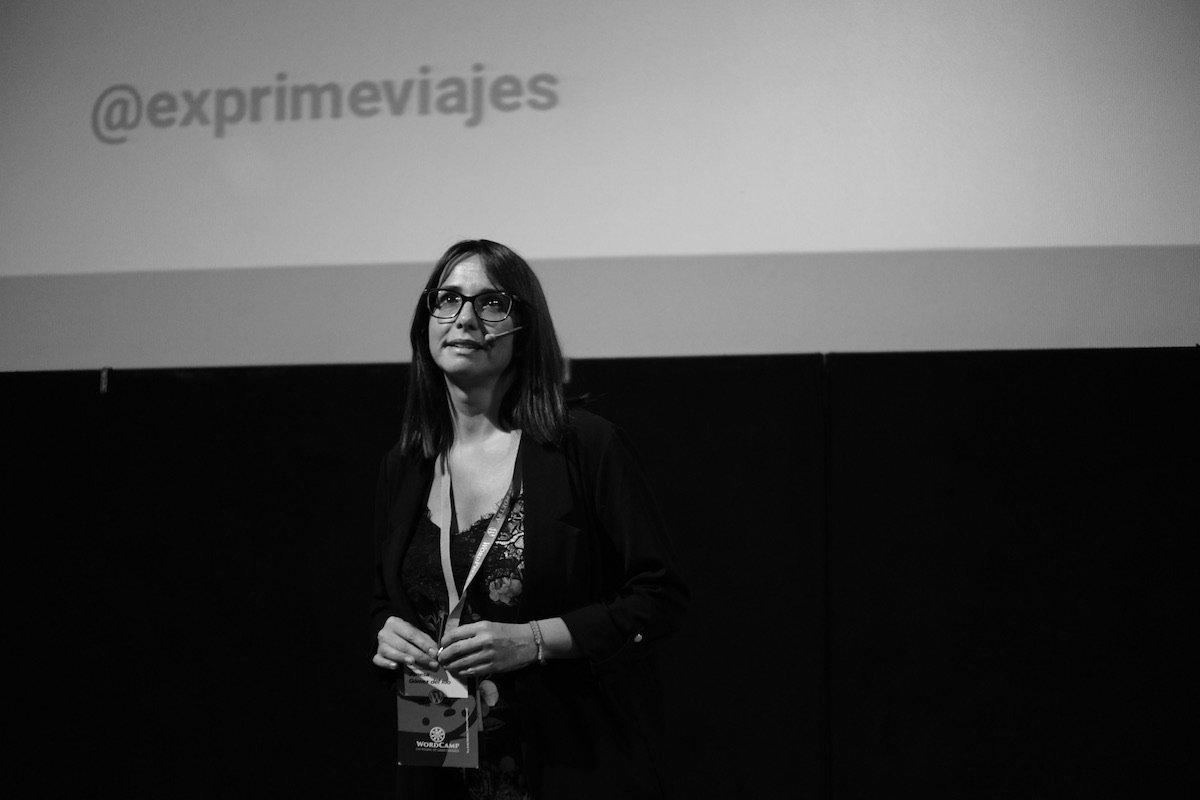 Vanesa Gómez. Imagen de Roberto Vázquez