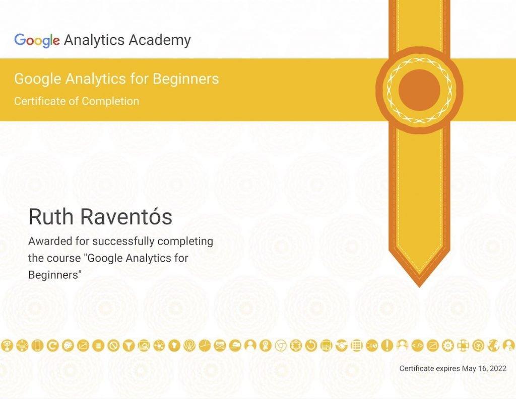 Completitud de Google Analytics para principiantes.
