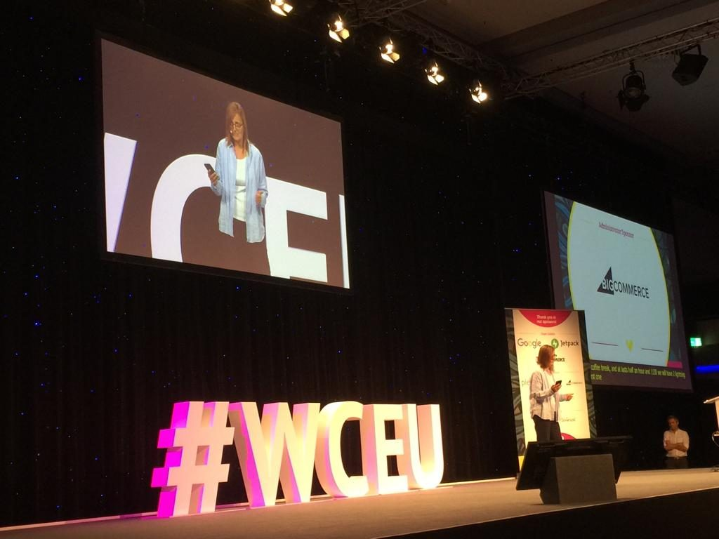 Ruth as Emcee in the WCEU2019