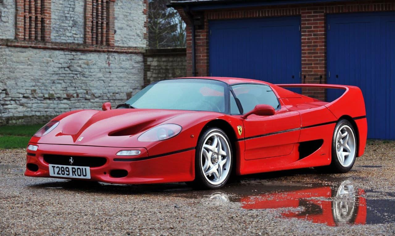 Ferrari F50.