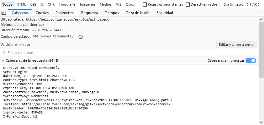 Redirección de una URL inválida a una URL válida