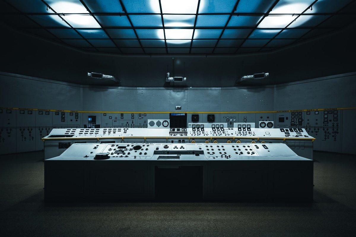 Sala de control, de Patryk Gradys