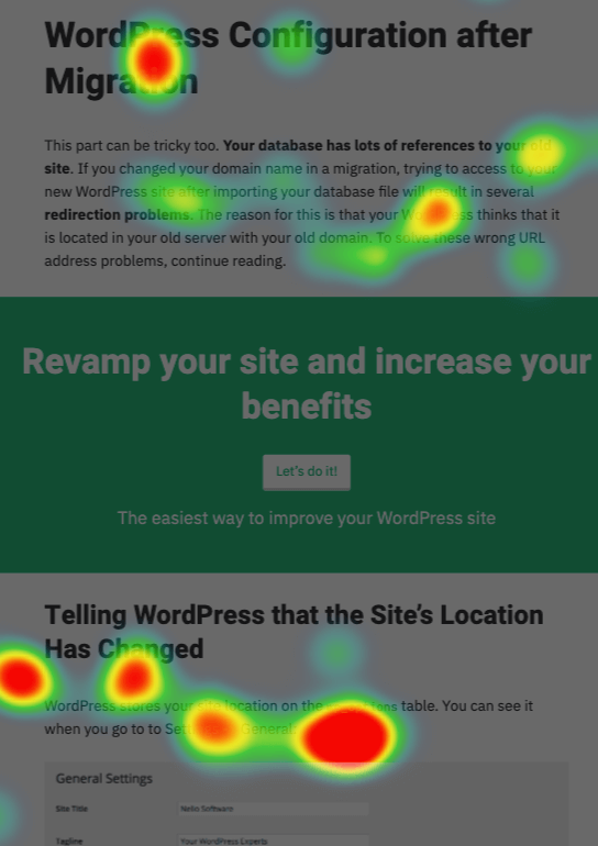 Variant heatmap with English banners