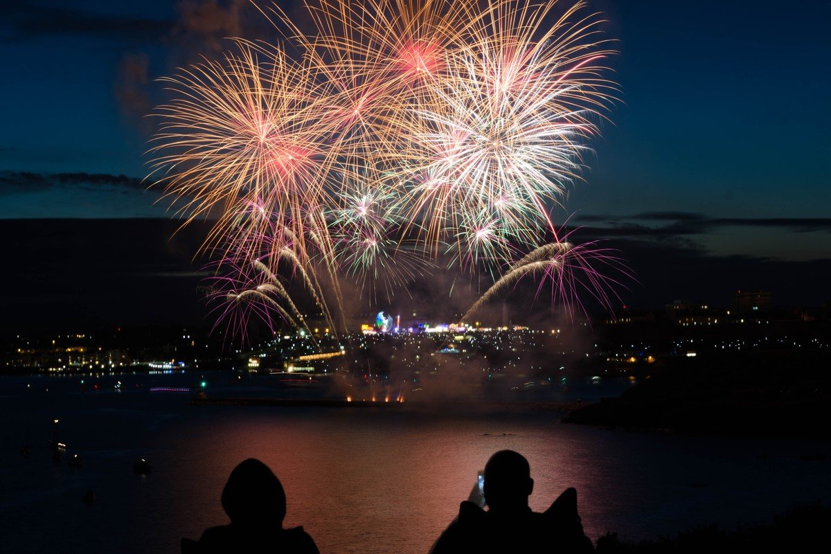 Fuegos artificiales, de Chris Gilbert