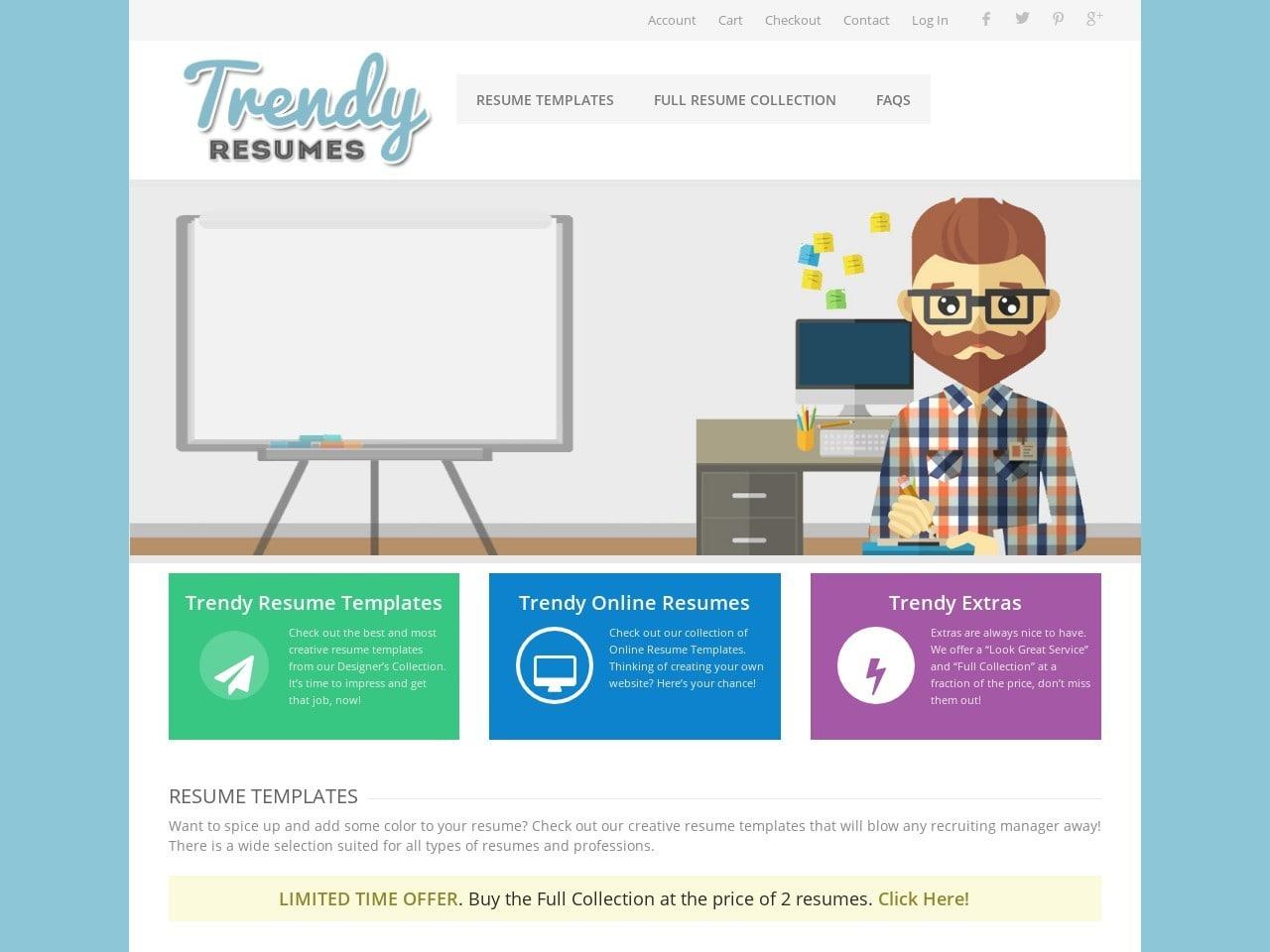 Trendy Resumes