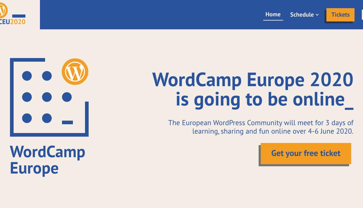 WCEU 2020 online