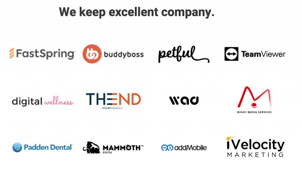 Logos de clientes