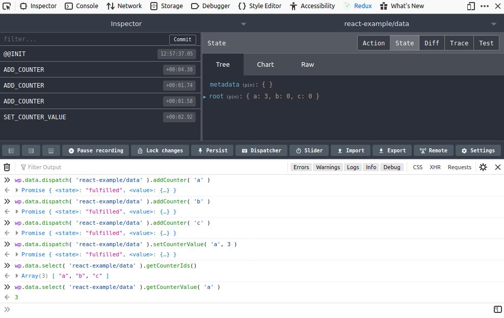 Redux DevTools en Firefox