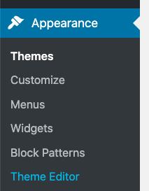 CoBlocks plugin menu