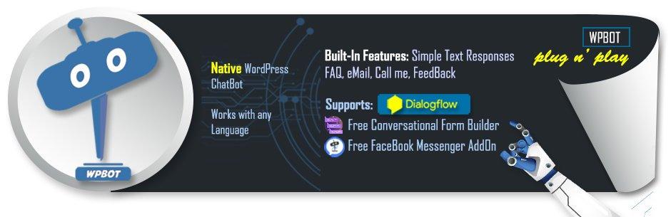 WordPress ChatBot plugin banner