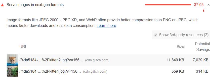 Utiliza un formato WebP de imágenes para mejorar la velocidad de carga de tu web