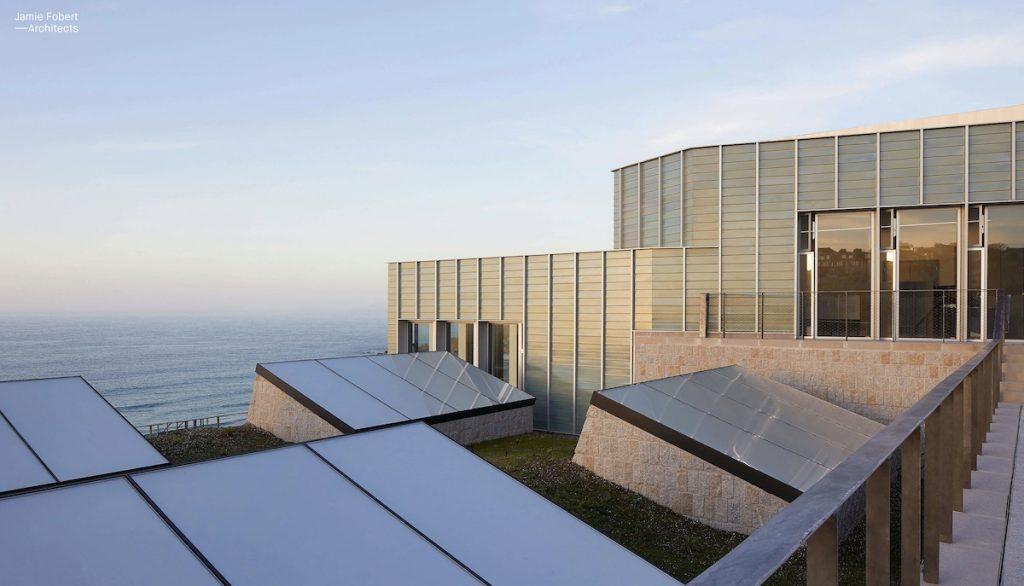 Captura de pantalla de la web Jamie Fobert Architects