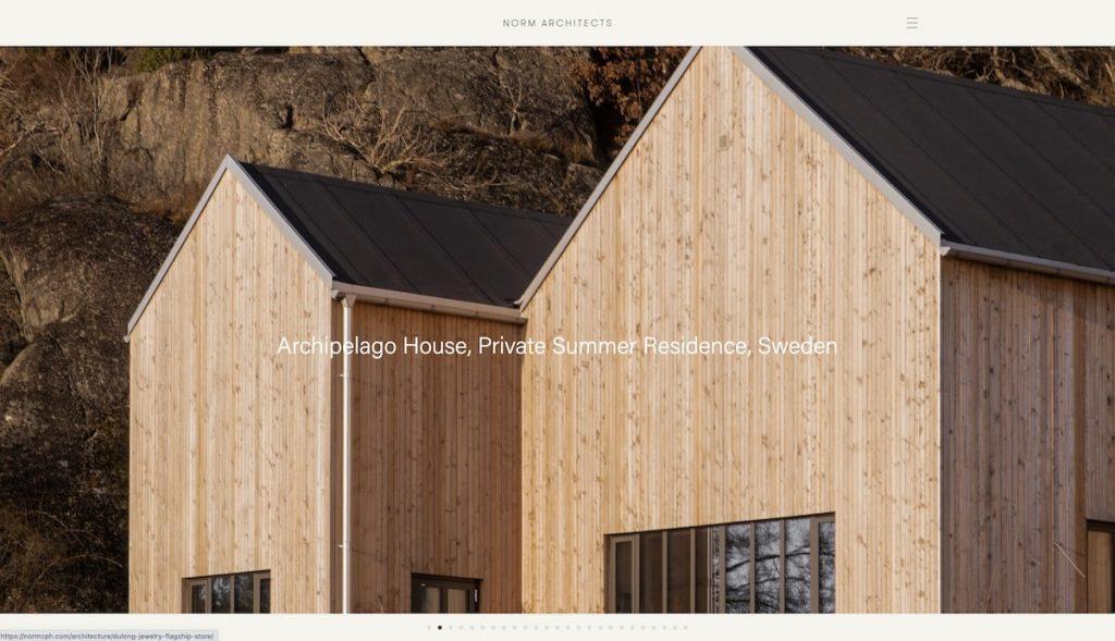 Captura de pantalla Norm Architects