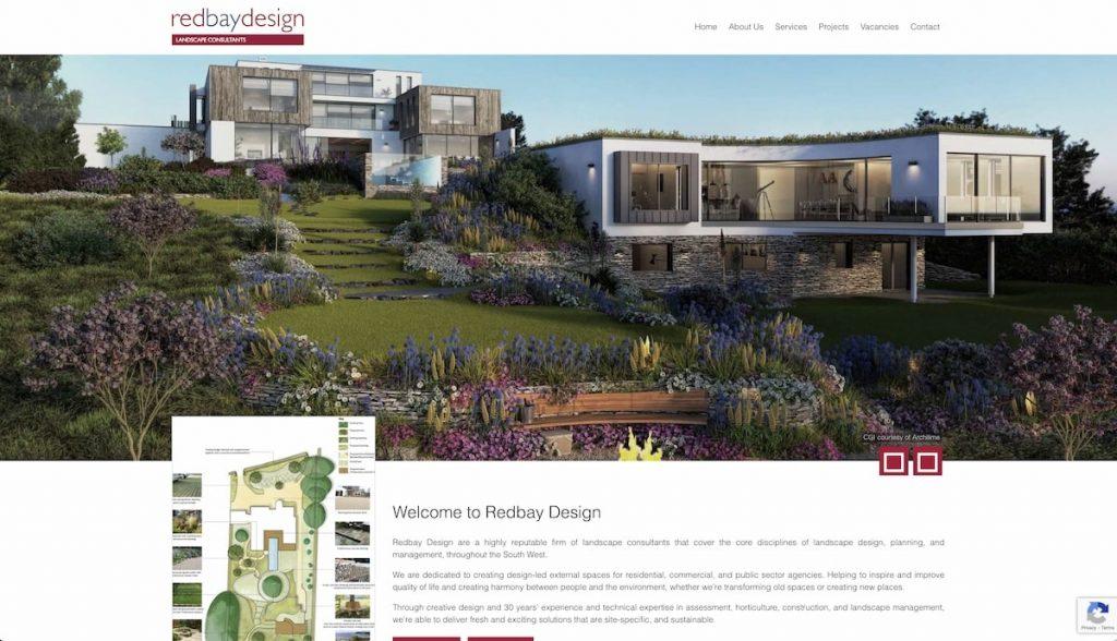 Captura de pantalla de Redbay Design