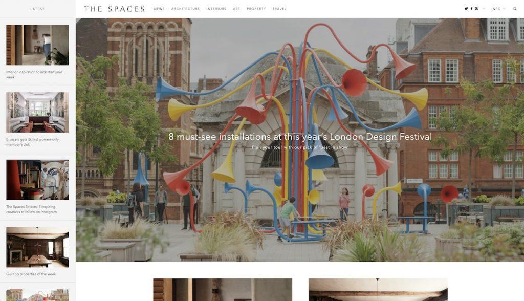 Captura de pantalla The Spaces