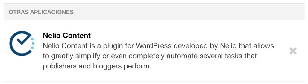 Revocar el permiso de acceso de terceros de Nelio Content a la cuenta de Tumblr.