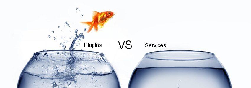 wordpress plugins vs services