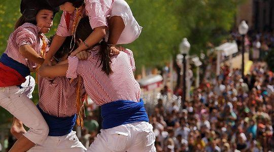 Castellers in Catalonia