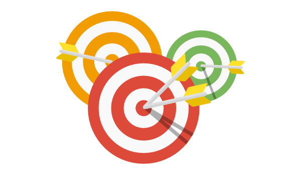 Goals as targets and arrows