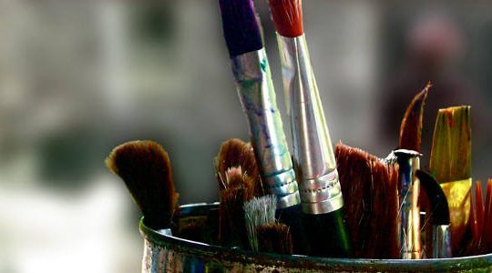 Paint Brushes by Kara Harms