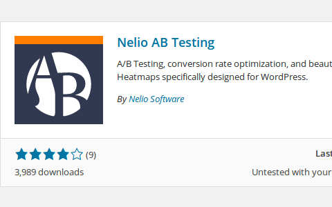 Read Nelio A/B testing is ready for WordPress 4.0 And you?