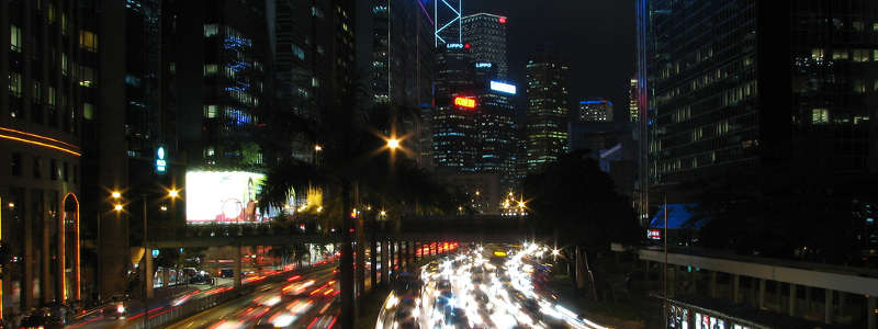 Rush Hour in Hong Kong by Andreas.